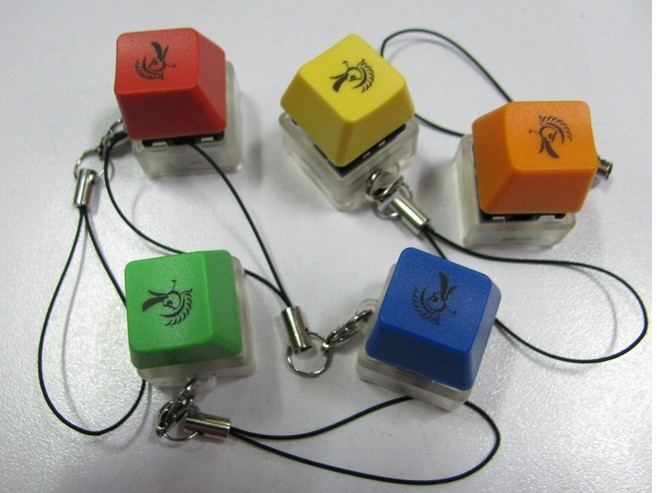Ducky Caps Key chain, choose from available color