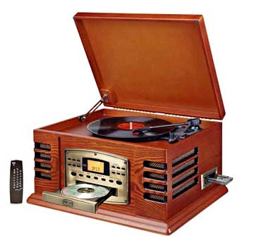 Crosley CR 78 4 In1 Turntable/record Player CD Entertainment Center
