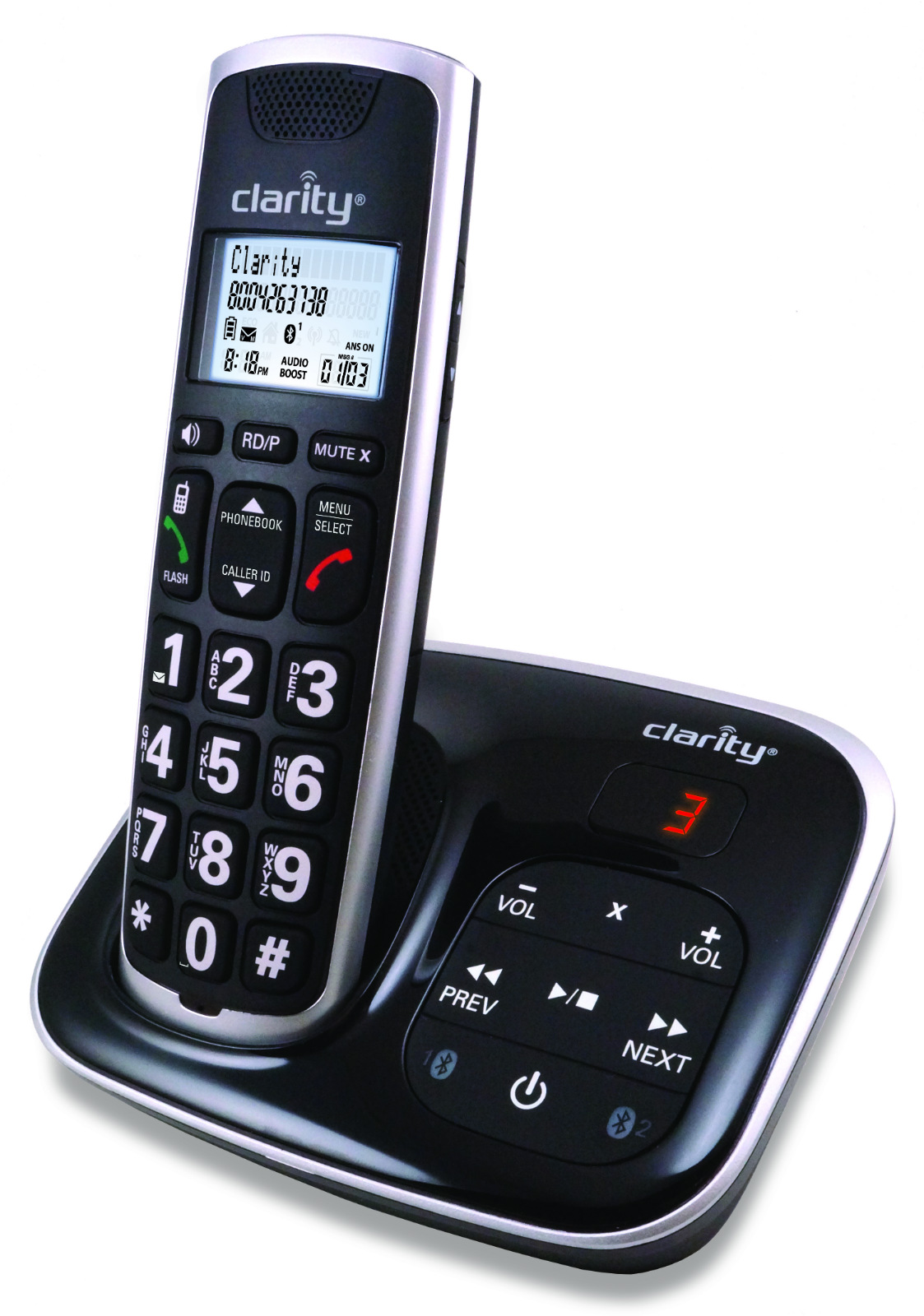 two line cordless phones without answering machine