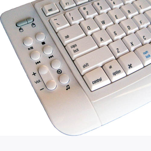 dsi wireless ergonomic mac keyboard with touchpad w1000m ebay. Black Bedroom Furniture Sets. Home Design Ideas