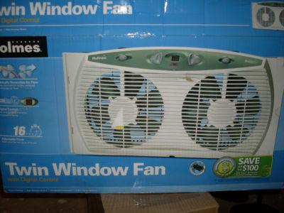 Lauraaldridge1984 Holmes 3 Speed Twin Dual Window Fan