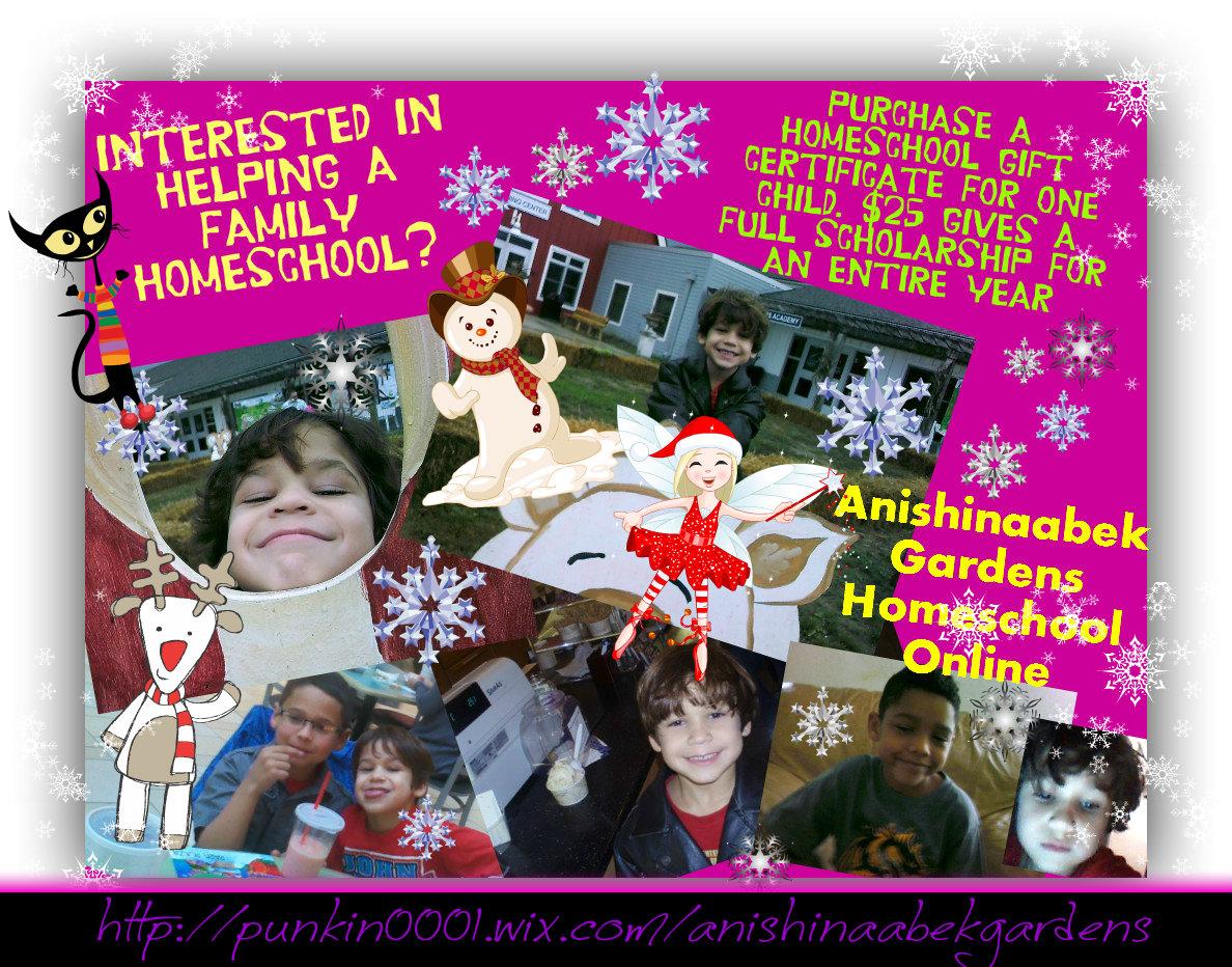 Homeschool Gift Certificates