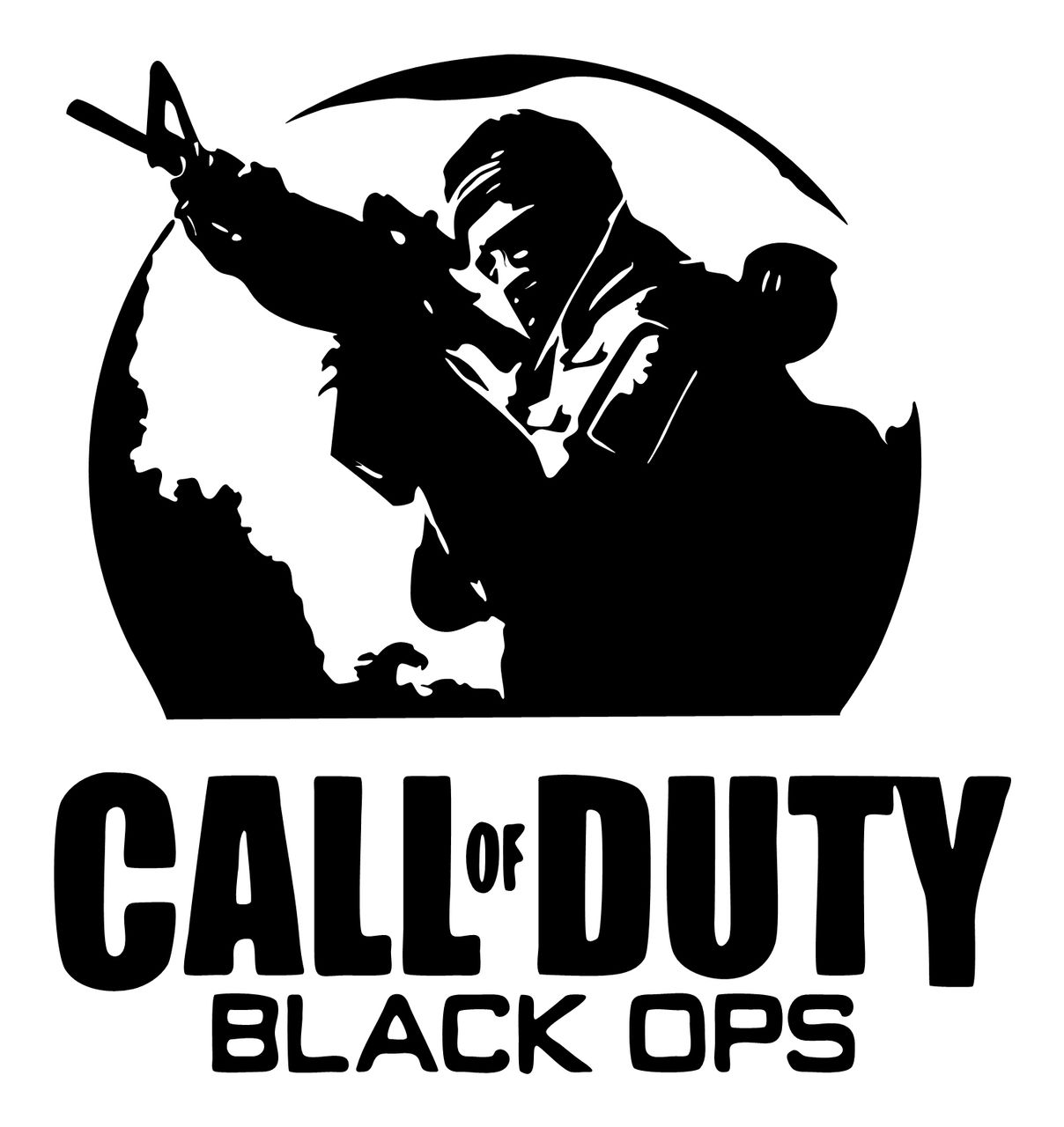 Call of duty vinyl decal sticker wall car ps3 xbox