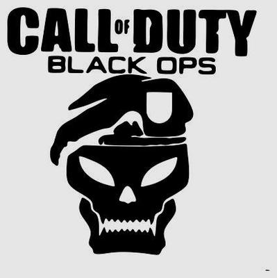 Huge Call Of Duty Black Ops Vinyl Decal Pack Sticker Car