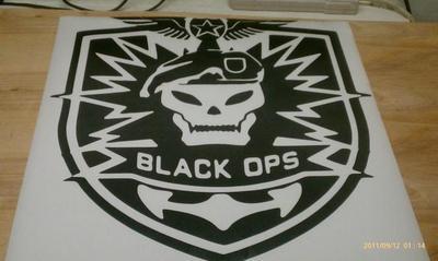 Huge Call Of Duty Black Ops Vinyl Decal Pack Sticker Car