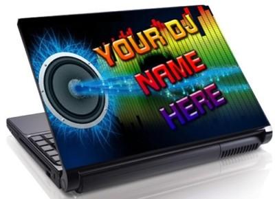Familydecals Custom Dj Music Personalize 15 4 Quot Laptop