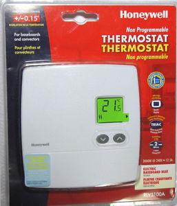 honeywell non programmable digital thermostat manual