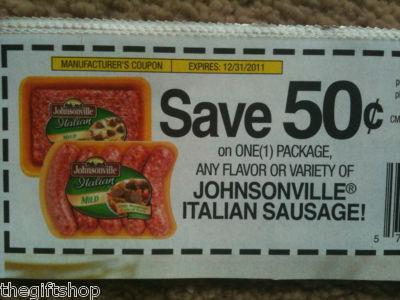Usinger's sausage coupon code