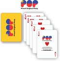 """"""" EAGLE/LION/PHILIPPINES FLAG"""" PLAYING CARDS"""