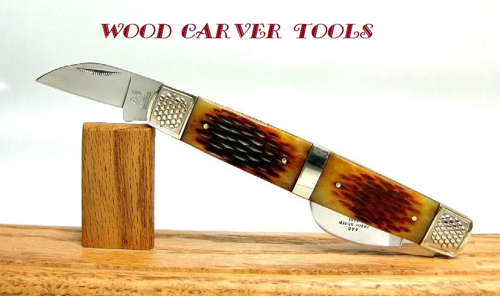 Wood carver tools rare bl wharncliffe carving