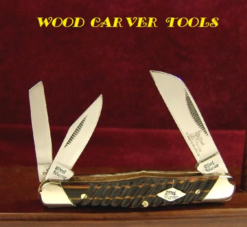 Wood carver tools quot cocobola hack blade whittling