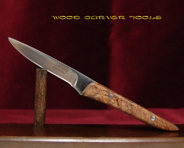 Wood carver tools cannady usa custom made quot spalted