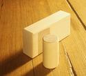 Photo of MO922 Wooden Block Half Cylinder Standard Unit Block in Hard Rock Maple