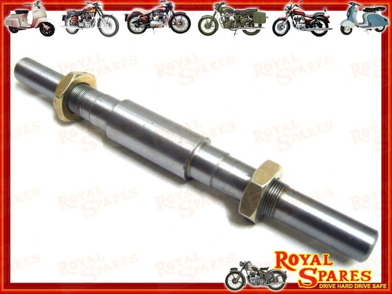 Bulletwala com royal enfield front hub spindle kit 144293 fw axle