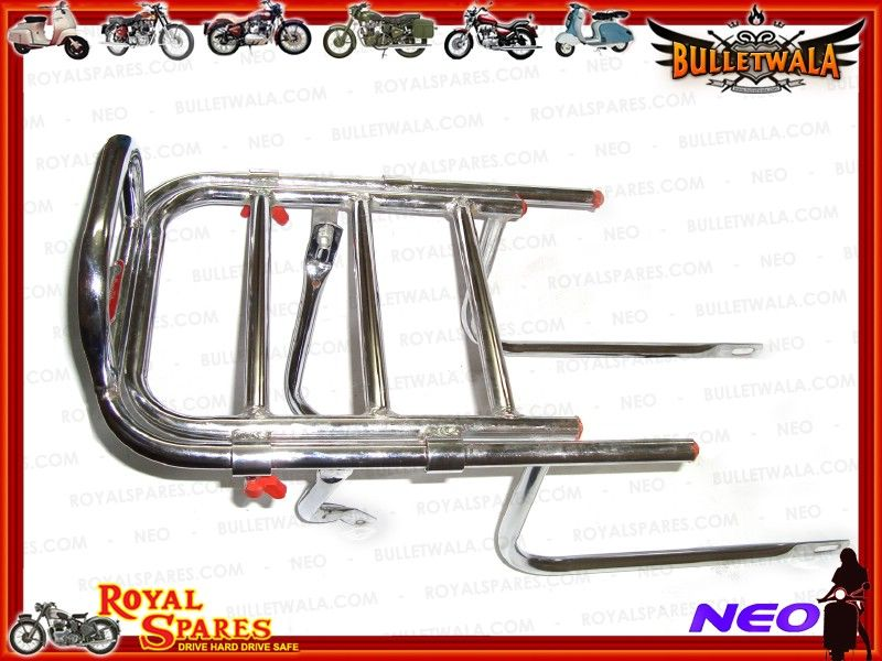 Best Online Invoicing Bulletwalacom  Adjustable Chromed Rear Luggage Carrier Royal Enfield Videographer Invoice Excel with Format Of Invoice In Word Adjustable Chromed Rear Luggage Carrier Royal Enfield Thunderbird Return Receipt Excel