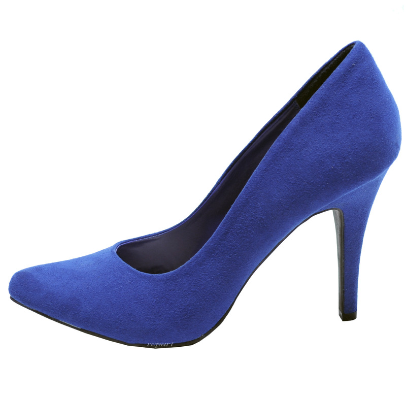Royal Blue Pointe Shoes Royal Blue Shoes Pump