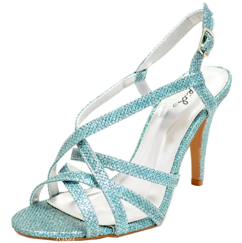light blue shoes open toe evening stilettos blue strappy wedding prom. Black Bedroom Furniture Sets. Home Design Ideas