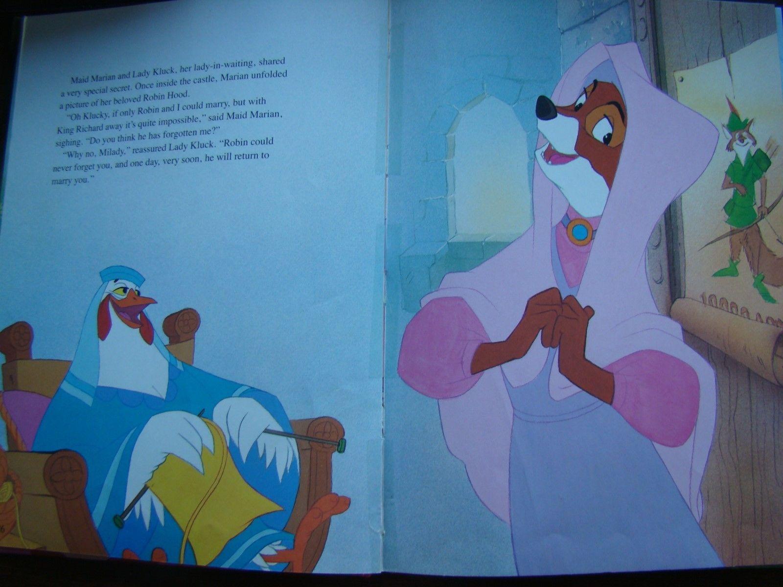 Hoosiervintagegoods Vintage Robin Hood By Disney Staff
