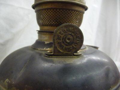 New Beginnings Market Brass Oil Lamp Kerosene Old