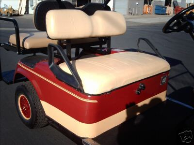 EZGO EZ-GO GOLF CART FRONT SEAT CUSHIONS SET ANY