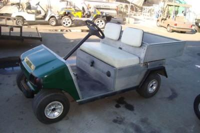 Club Car Carryall Gas Golf Cart Utility Dump Bed 11hp Lsv Carts