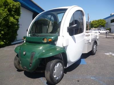2 pass seat chrysler gem e825 electric golf cart utility for Golf cart garage door prices