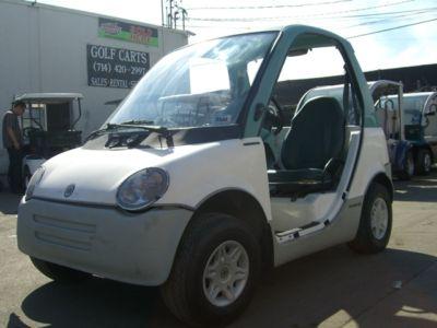 1999 Bombardier Electric vehicle golf cart car 2 p