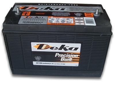 Deka Battery 7t31 12v 12 Volt Deep Cycle Club Car