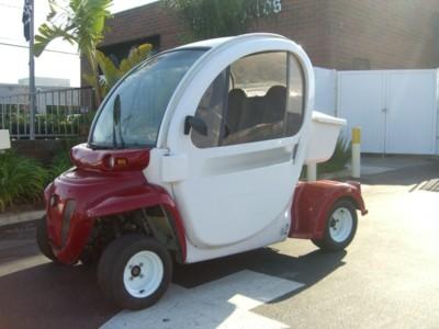 2005 Chrysler Gem E2 Electric Golf Cart Utility Doors Lsv