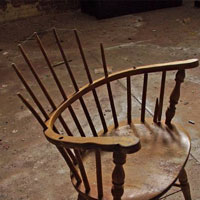 Broken Chair Spindles Legs