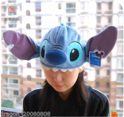 zchan : Disney LILO Stitch Costume Hat Cap Plush Cosplay Fancy  Stitch Cap
