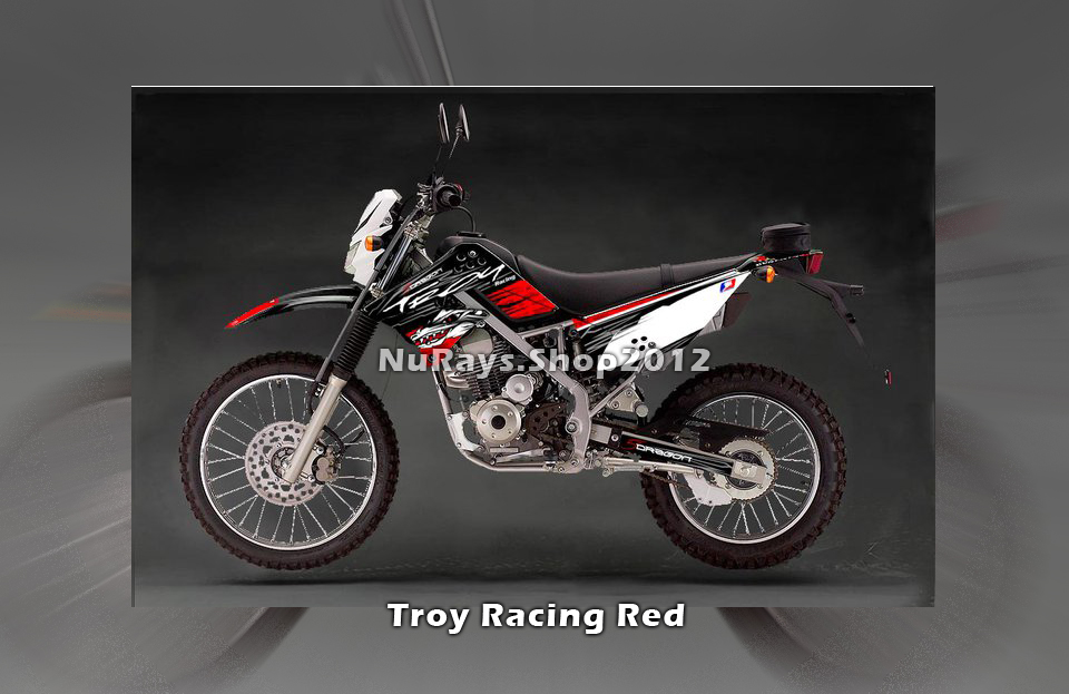 Troy Racing Red