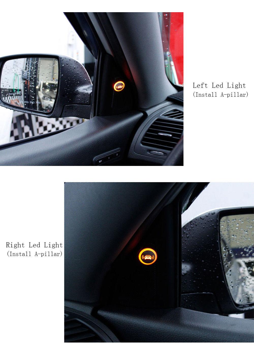 Car Blind Spot Detection Microwave Radar Sensor System Bsd