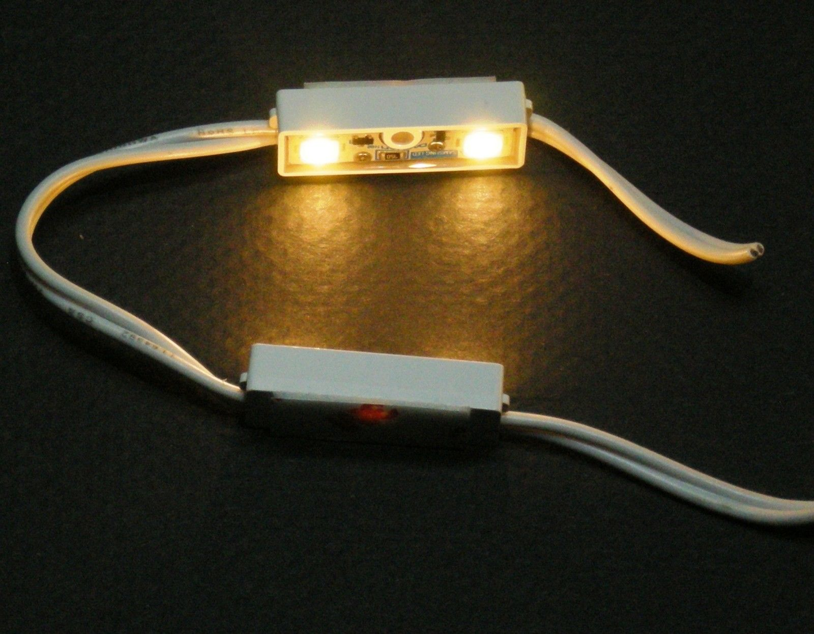 String Lights For Under Cabinets : LED MODULE LOW PROFILE 12VDC WARM WHITE SAMSUNG LEDS LIGHT STRING UNDER CABINET, J2 LED LIGHTING LLC