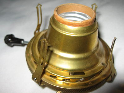 Brianggs Vintage Oil Lamp 2 Electric Adapter