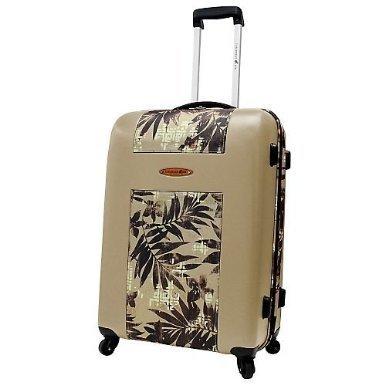 Joe 25'' Cayman Hardside Spinner Upright TAN Luggage Free shipping