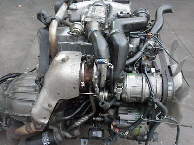 jdmworld2008 : isuzu trooper 4jg2 turbo diesel engine 3.1l fr