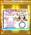 Magnesium Citrate Powder Organic Grown All Natural