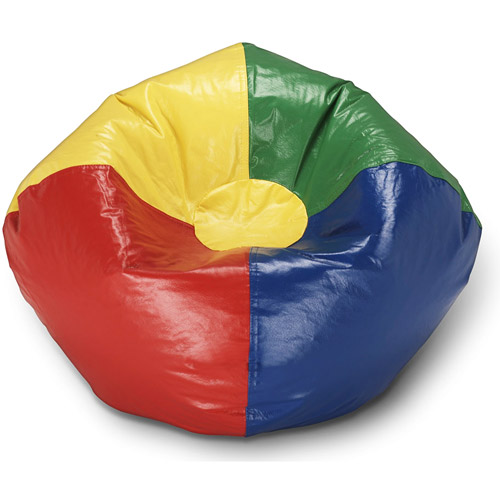 Ace Bayou Primary Round Bean Bag  Multi large