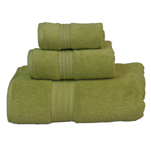 3-Piece Eco-Friendly Quick-Drying Towels, Green