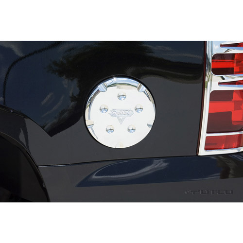 Putco 404902 Chevy GMC YUKON Chrome Trim Fuel Tan