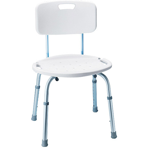 Carex Adjustable Bath & Shower Seat w/ Back B651