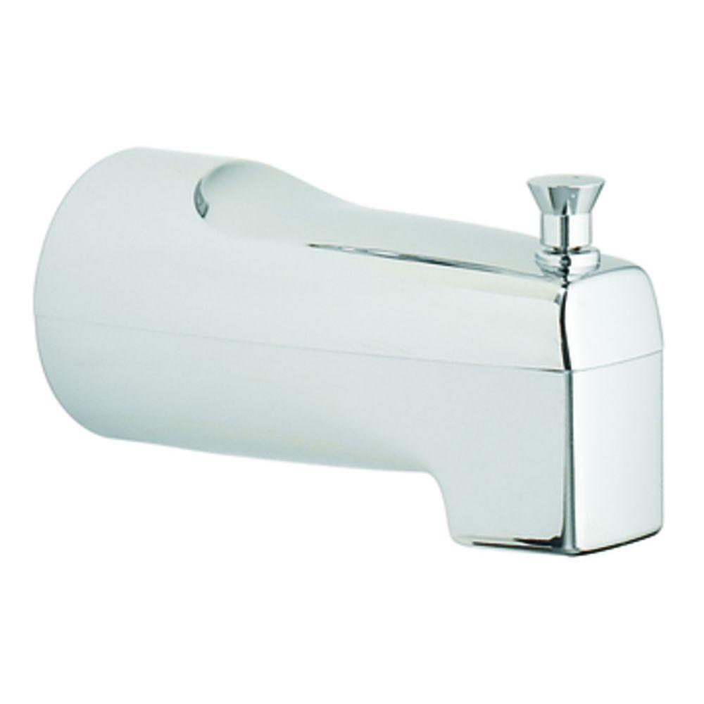 with in chrome speakman the spouts polished p edge s connection spout tub slip fit