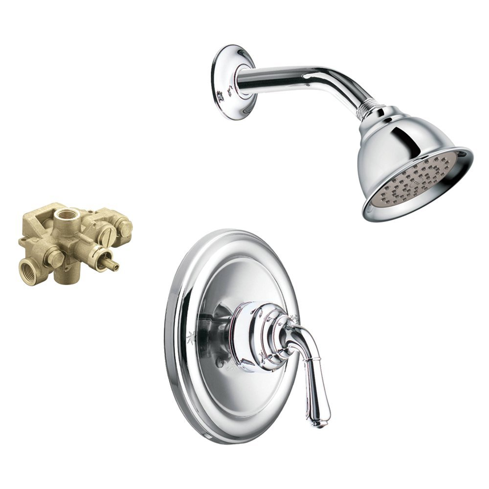 Moen KSMO-M-T3124CR Monticello Showerhead And 3510