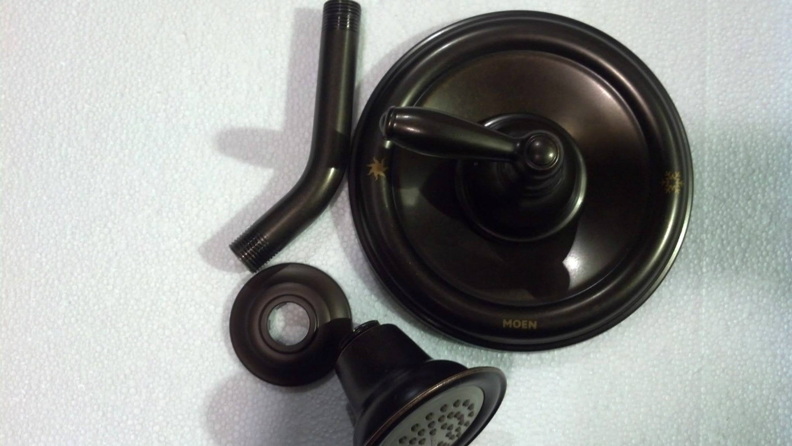 Moen t2152orb brantford posi temp shower faucet oil - Moen rubbed bronze bathroom faucets ...
