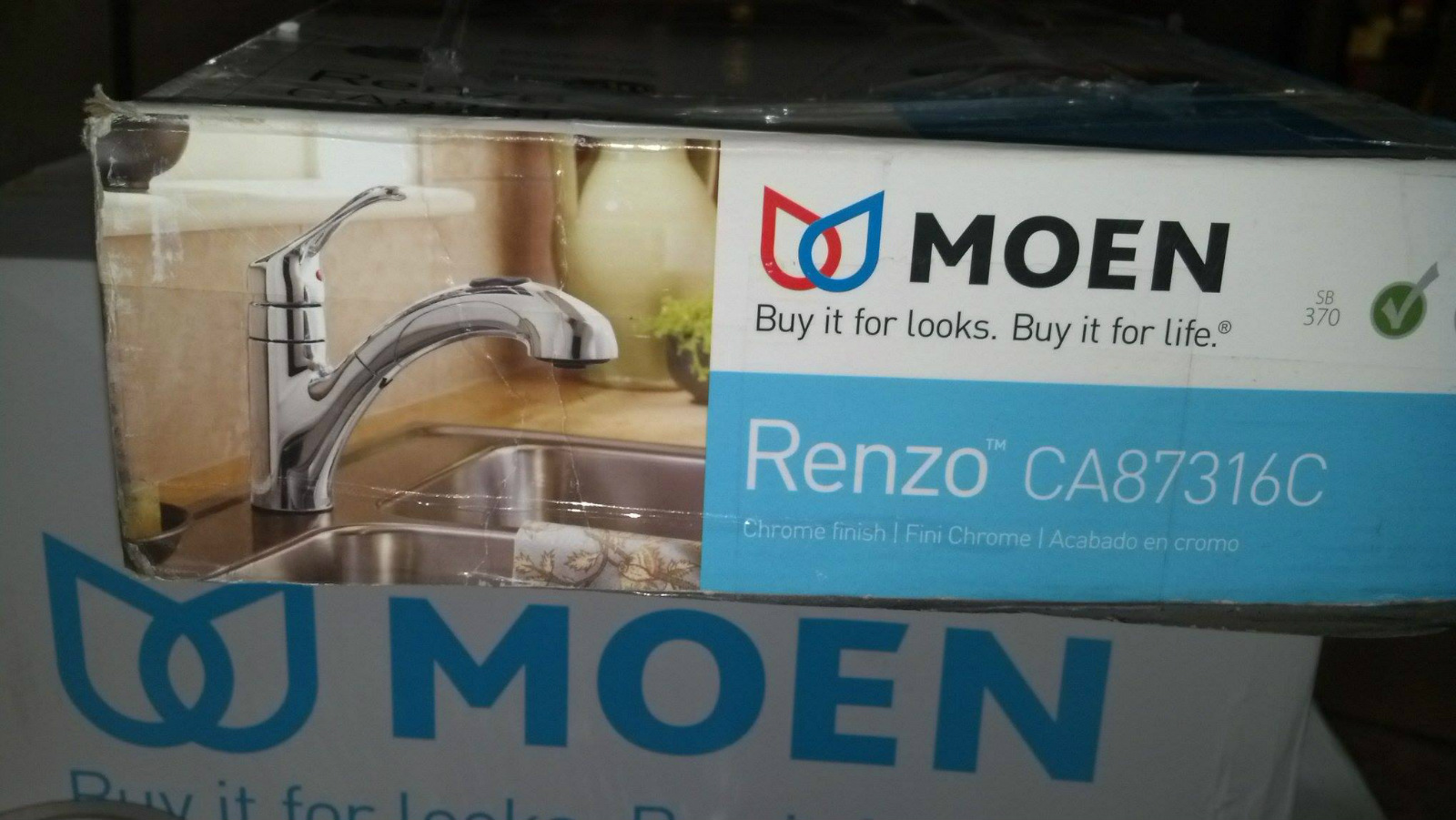 Moen Ca87316c Renzo Single Handle