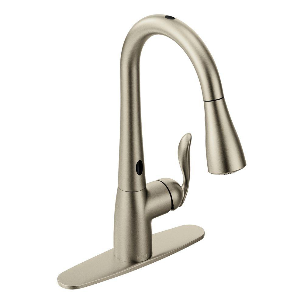 Moen 7594esrs Arbor Pull Down Sprayer Kitchen Faucet
