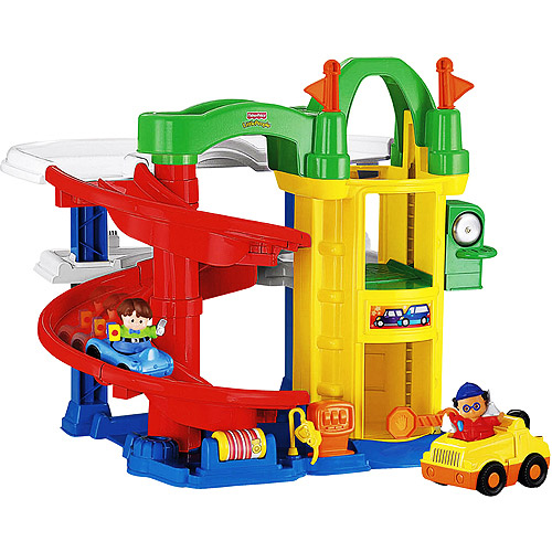 Fisher price little people racin 39 ramps garage pppa avi - Fisher price little people racin ramps garage ...