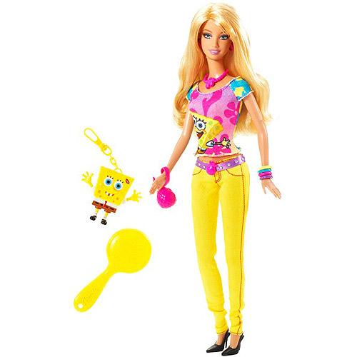Barbie Loves SpongeBob SquarePants Doll PPPEB
