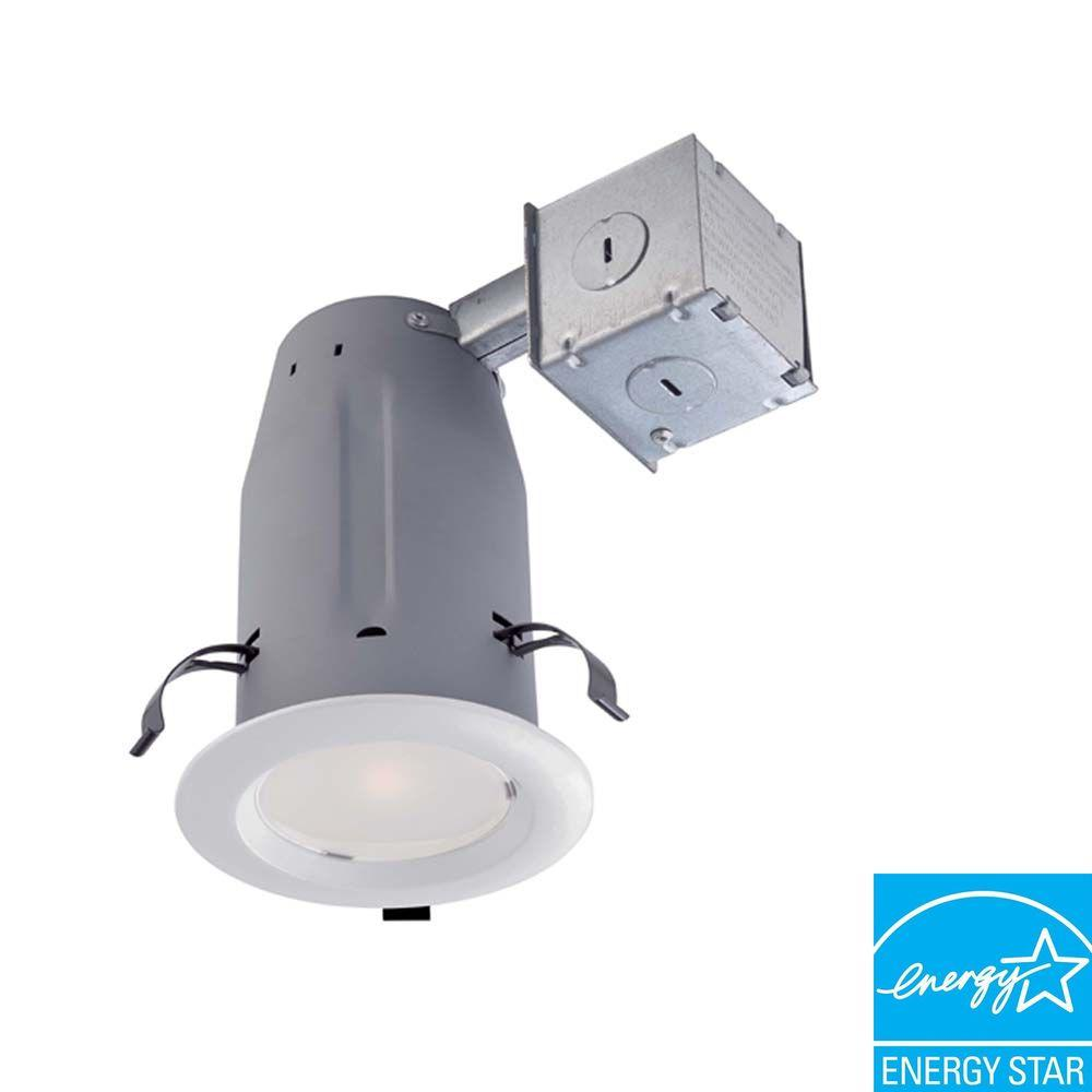Commercial Electric Cer3licr3730wh 3 In Recessed White